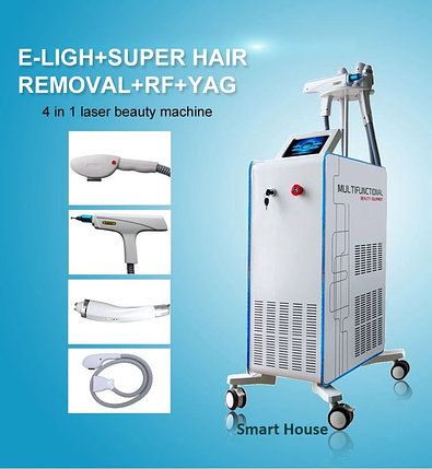 Аппарат 4 в 1 Elight + SuperHR + РФ + ND YAG лазер, фото 2