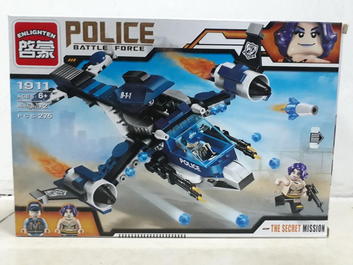 Конструктор Police Battle Force 1911 275 pcs  The Secret Mission