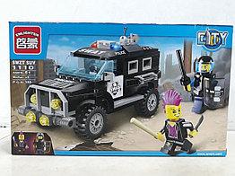 Конструктор Enlighten 1110 190 pcs SWAT SUV