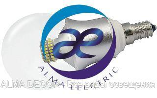 Светодиодная лампа E14 CR-DP-G60 6W Warm White
