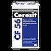 Полимерцементное покрытие-топинг Ceresit CF 56 для промышленных полов, упрочняющее, 25 кг