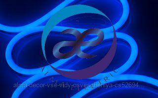 Гибкий неон ARL-NF5050-S50-220V Blue