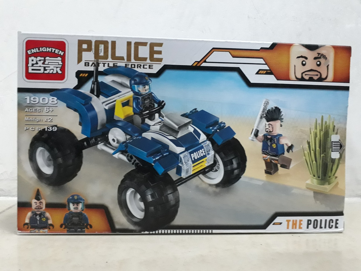 Конструктор Police Battle Force 1908 139 pcs The Police
