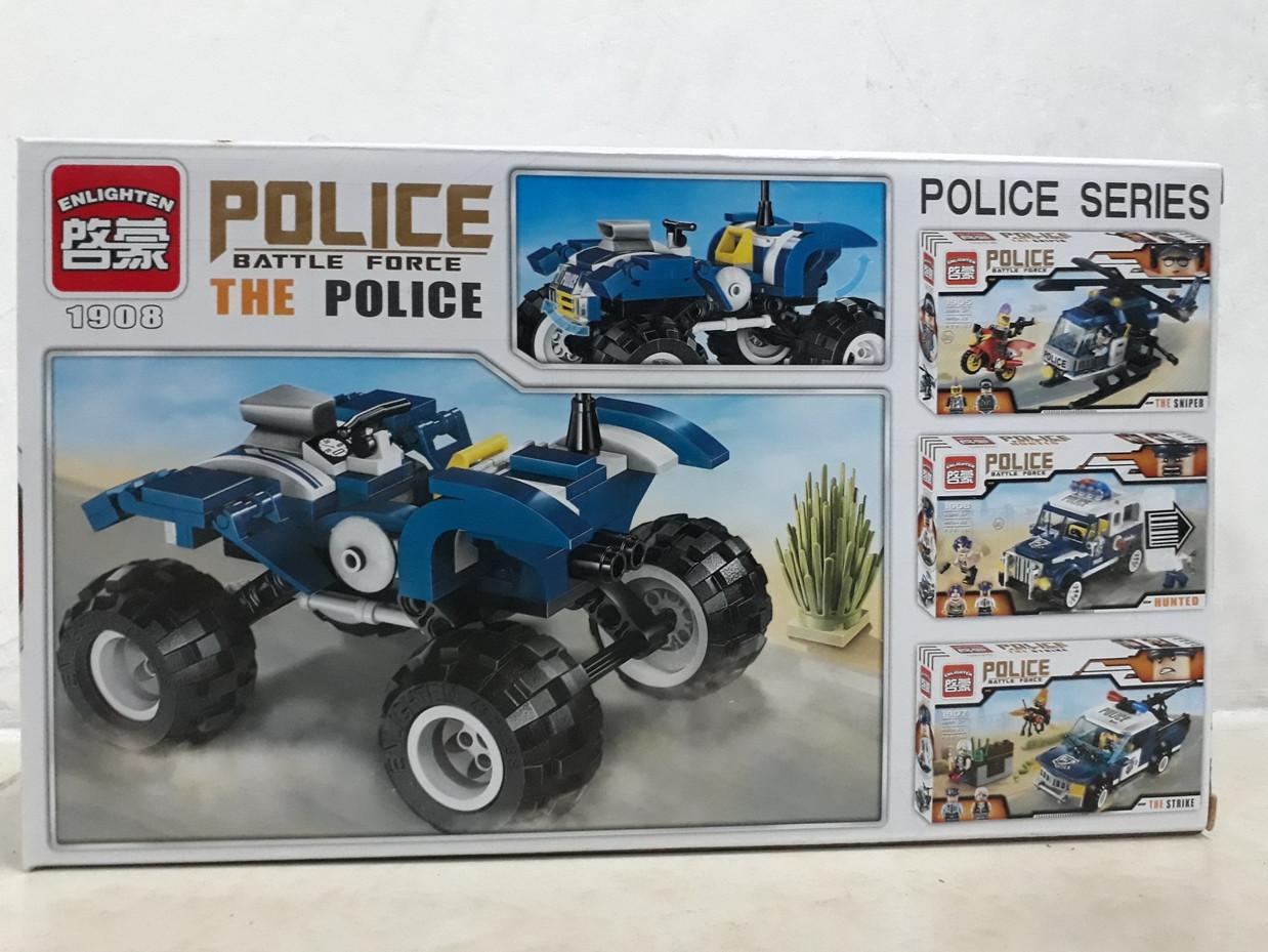 Конструктор Police Battle Force 1908 139 pcs The Police - фото 2