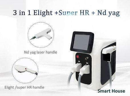 Аппарат 3 в 1 IPL + Elight + Супер удаление волос, фото 2