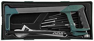 Набор инструмента ножовка, разводной ключ, зубила и выколотки в ложементе, 14 предметов M645114SP