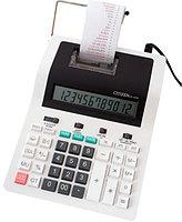Калькулятор с печатью 12 разрядов, лента 57мм, печать 2 цвета, серый Citizen, фото 2