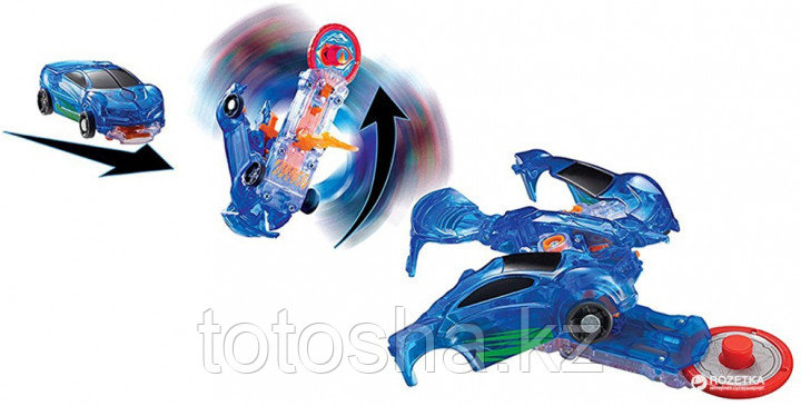 Screechers Wild EU683111 Машина-трансформер- Уровень 1 автомобиль- Jayhawk (ДжейХок)