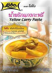 "Желтая Карри паста ""LOBO"" (Yellow Curry Paste) 50 грамм"