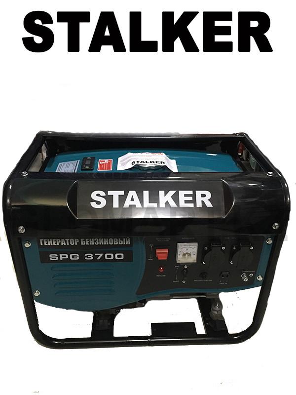 Бензиновый генератор Сталкер SPG 3700 (Stalker)