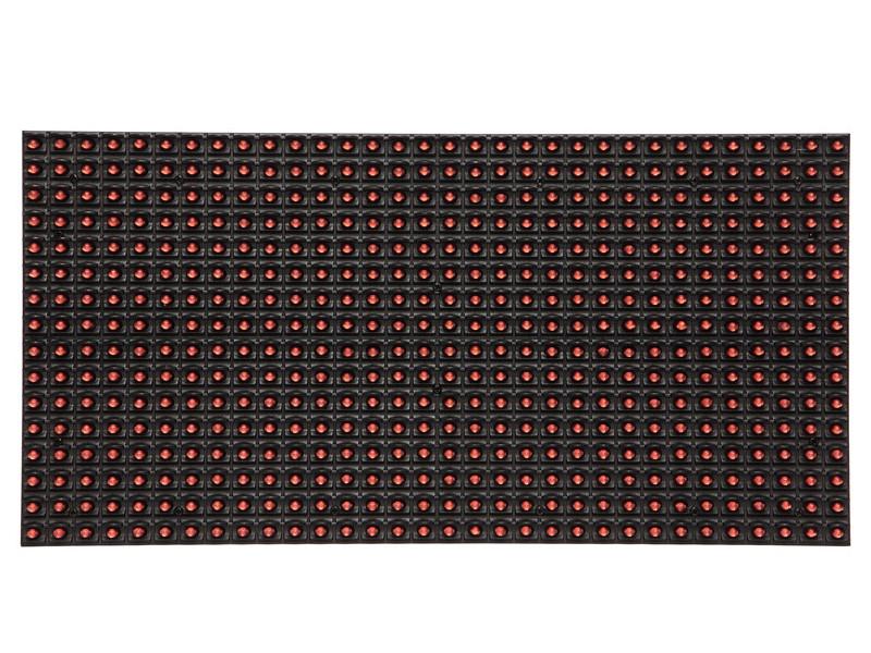 LED светодиодный модуль SMD,  P10,Красный