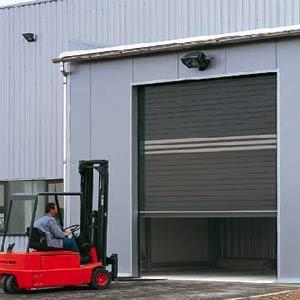 Автоматические скоростные рулонные ворота Hörmann