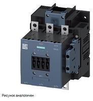 SIEMENS 3RT1075-6AP36 Контактор 3-х полюсный 400А, 200KW/(макс допустимый ток 430А) 220V AC 2NO+2NC