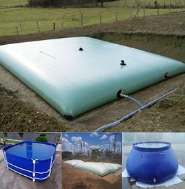 Флекситанки TB-C для питьевой воды, дождевой воды, сельского хозяйства, питания рыбы, хранения воды в пустыне