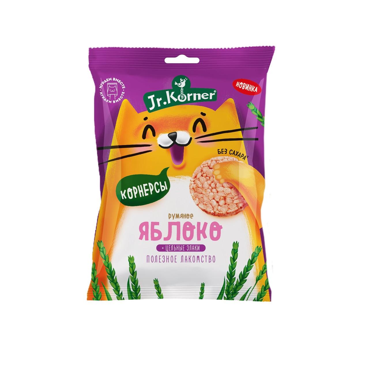 Рисовые мини хлебцы для детей с яблочным соком Dr. Korner