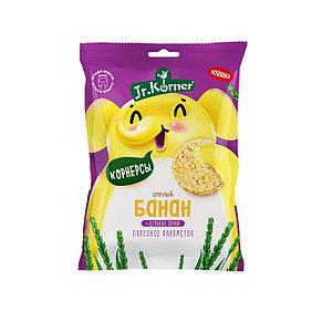 Рисовые мини хлебцы для детей с бананом