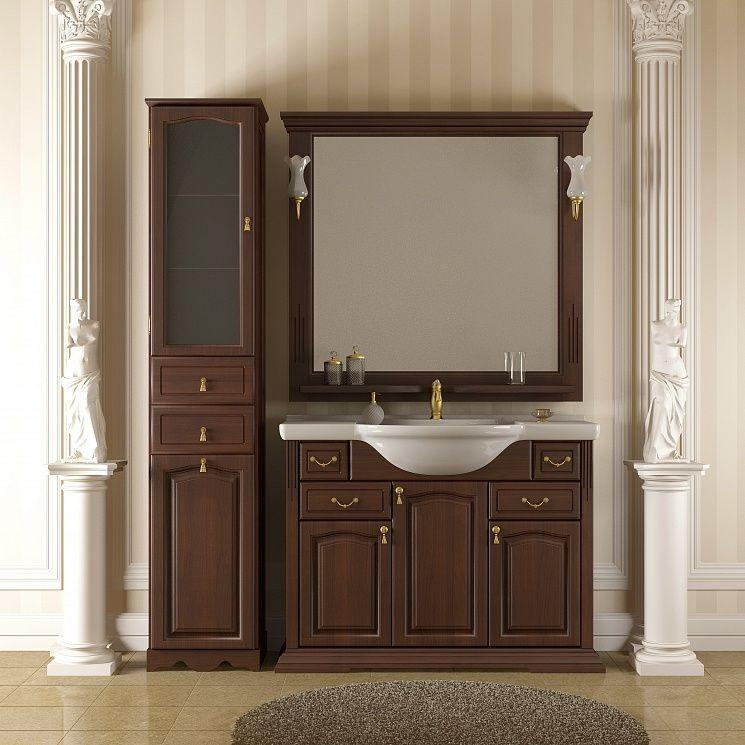 Пенал для ванной комнаты Opadiris Риспекто, нагал, правое открывание