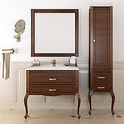 Пенал для ванной комнаты Opadiris Фреско, светлый орех, левое открывание
