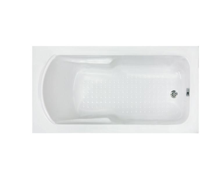 Ванна акриловая Formina MINERVA 155x70 см, с ножками, с фронтальной панелью