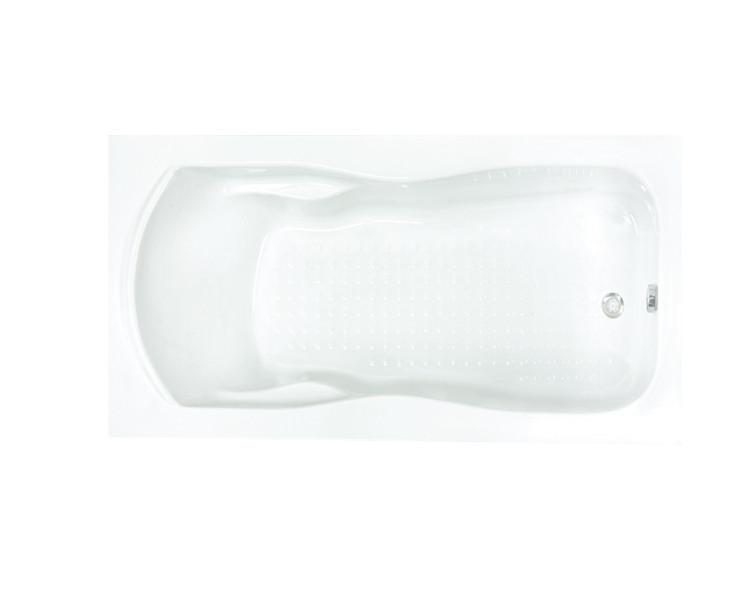 Ванна акриловая Formina CAROL 150x80 см, с ножками, с фронтальной панелью