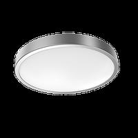 Светильник светодиодный GAUSS 18W IP20 2700К КРУГЛЫЙ серебро