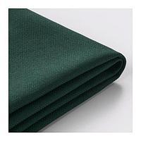 ВИМЛЕ Чехол д/п-образного 6-местн дивана, с открытым торцом, Гуннаред темно-зеленый