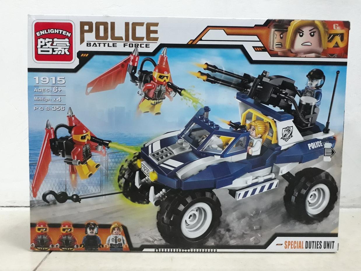 Конструктор Police Battle Force 1915 356 pcs Special Duties Unit