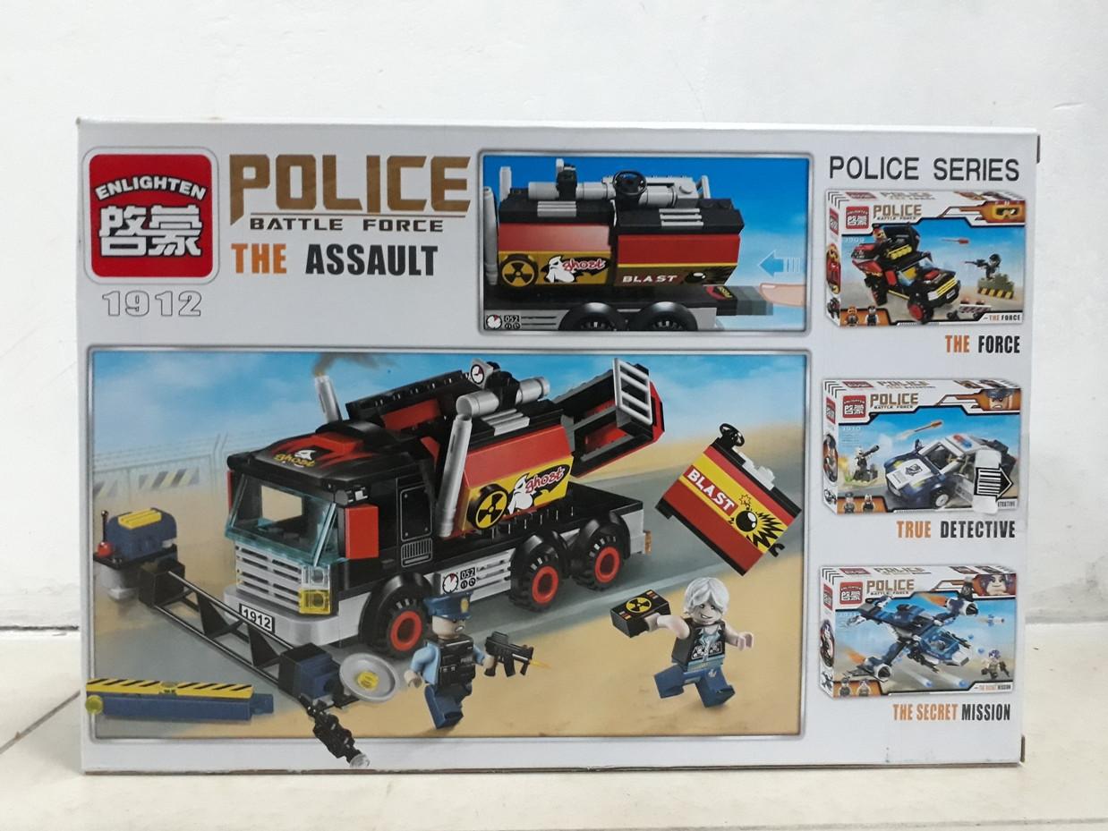 Конструктор Police Battle Force 1912 292 pcs The Assault - фото 2