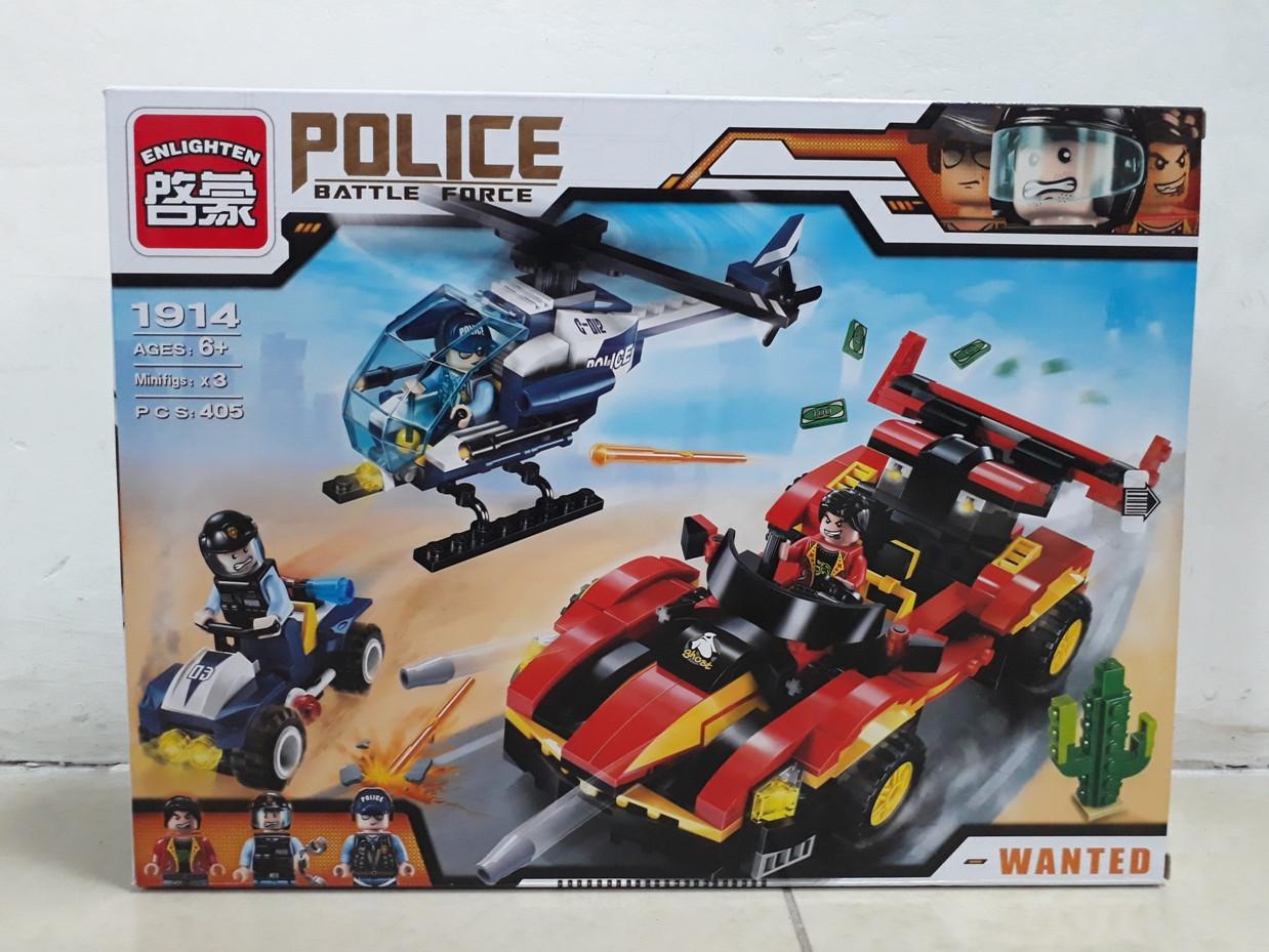 Конструктор Police Battle Force 1914 405 pcs Wanted
