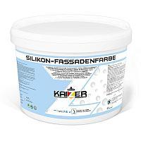 Силиконовая фасадная краска - Silikon Fassadenfarbe 10кг.