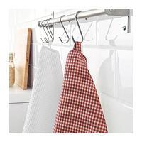 ТРОЛЛЬПИЛ Полотенце кухонное, белый, красный