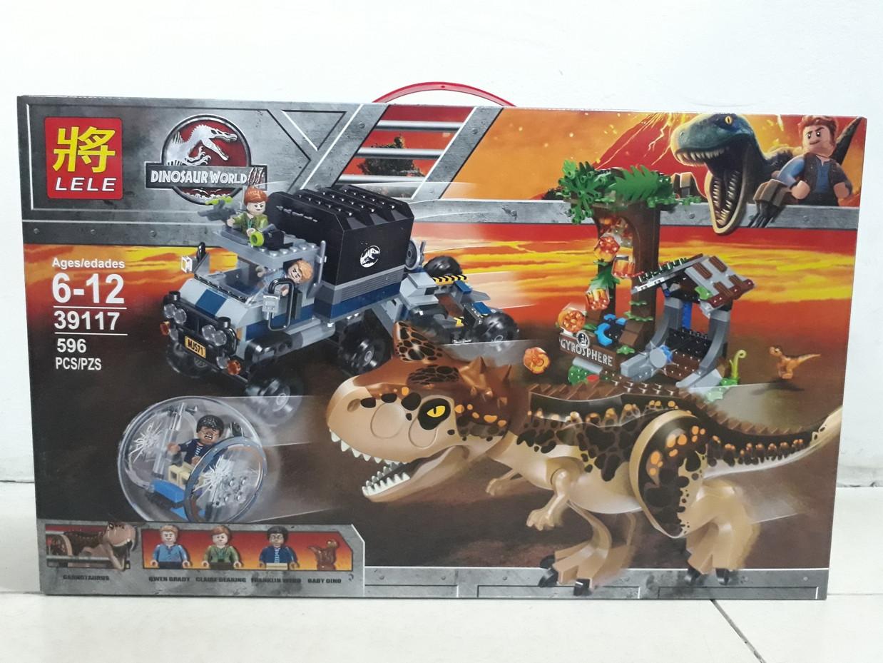 Конструктор Lele Dinosaur World 39117 596 pcs