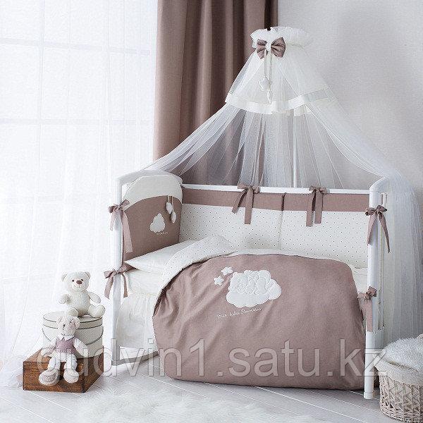 PERINA Комплект в кровать 4 предмета  Бамбино КАПУЧИНО | ББ4-01.5