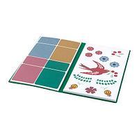 АНИЛИНАРЕ Папка с наклейками, красный, зеленый