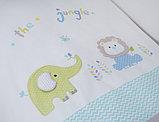 Постельное белье Perina Джунгли 3 предмета ДЖ3-01.1, фото 3