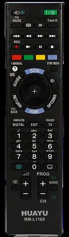 Пульт универсальный для ТВ SONY RM-L1165, фото 2