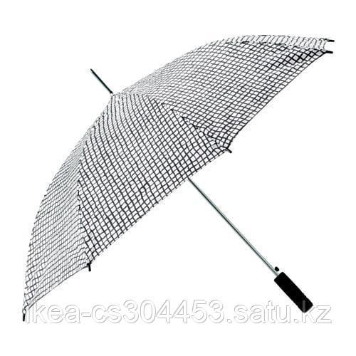 КНЭЛЛА Зонт, черный, белый - фото 1