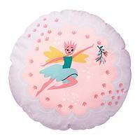 ЛАТТО Подушка, фея, светло-розовый сиреневый