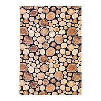МАРГАРЕТА Ткань, древесина, белый/коричневый