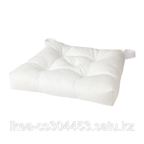 МАЛИНДА Подушка на стул, белый - фото 1