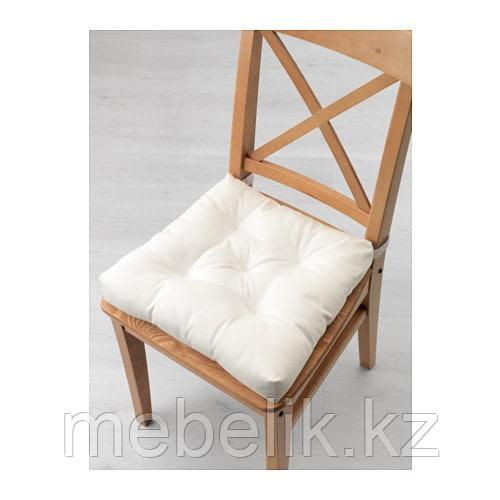 МАЛИНДА Подушка на стул, белый - фото 2