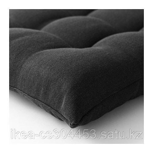 ХОЛЛО Подушка на садовую мебель, черный - фото 4