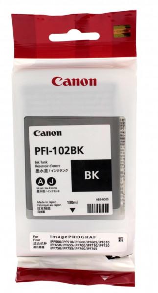 Тонер Canon PFI102B BLACK IPF500 (0895B001AA)