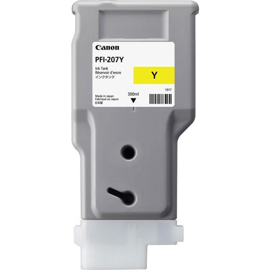Картридж Canon PFI-207Y (8792B001AA) желтый
