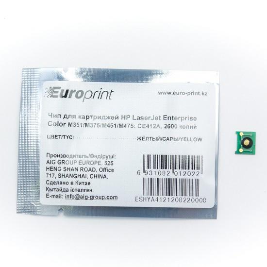Чип Europrint CE412A