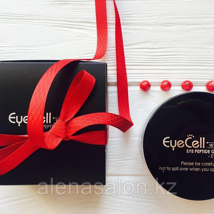 Увлажняющие пептидные гелевые патчи для области глаз EYECELL / 60 шт (100 г)  Genosys