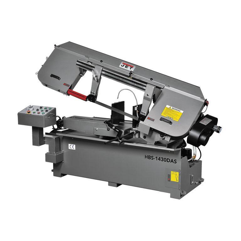 Ленточнопильный станок JET HBS-1430DAS полуавтоматический