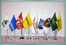 Флажки и флаги с логотипом