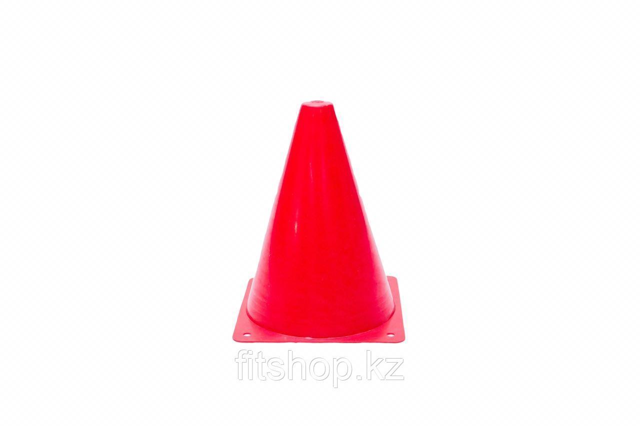 Конус спортивный для разметки 18 см красный