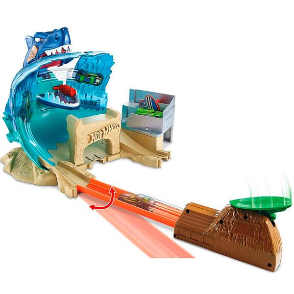 """Игрушка Hot Wheels (Хот Вилс) Сити Игровой набор """"Схватка с акулой"""""""